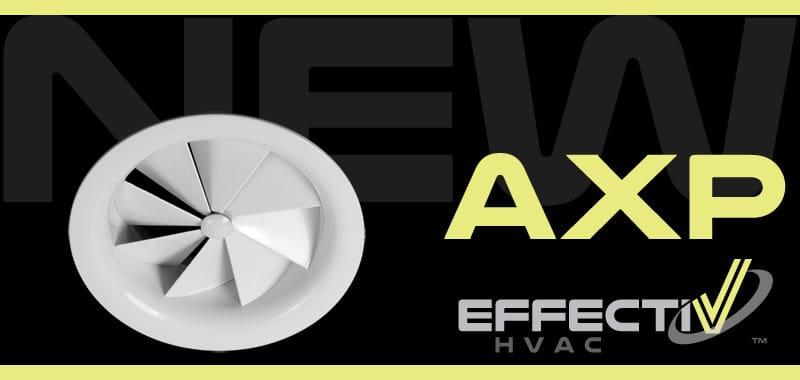 New Product AXP Fixed Swirl Diffuser