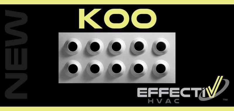 Adjustable Multi Jet Nozzle Panel Diffuser KOO