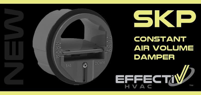 New Product SKP Constant Air Volume Damper