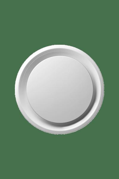 DSO Architectural Aluminum Round Plaque Diffuser