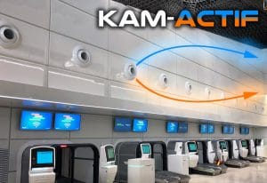 KAM-W-ACTIF Thermodynamic Nozzle Jet Diffuser