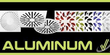 New Aluminum Swirl Diffusers