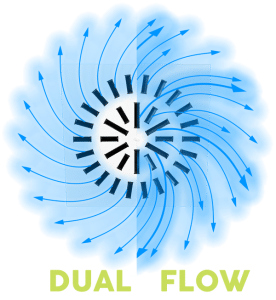 Dual Flow Diffuser for VAV Systems