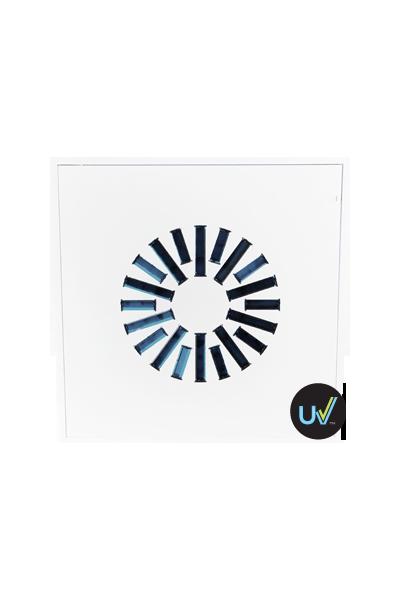 AXO-S400-UV High Induction Swirl UV Diffuser for 100 cfm - 250 cfm