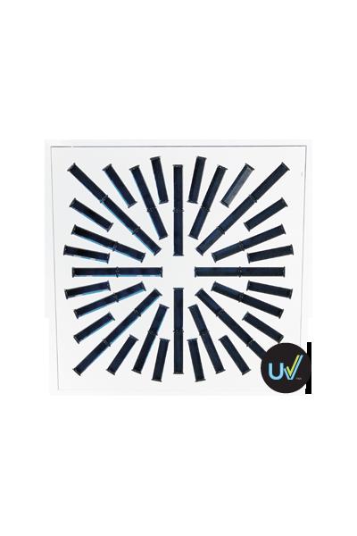AXO-SX-UV High Induction Swirl UV Diffuser for 300 cfm - 550 cfm