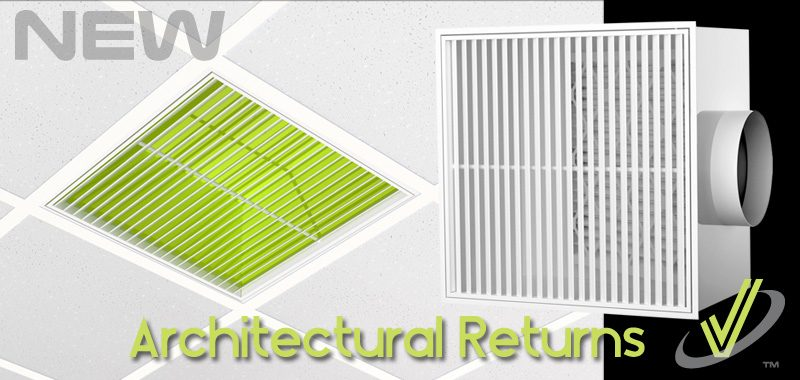 New Products - Architectural Ceiling Returns