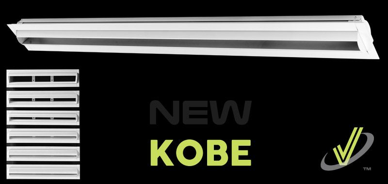 New Product: KOBE Linear Jet Diffuser